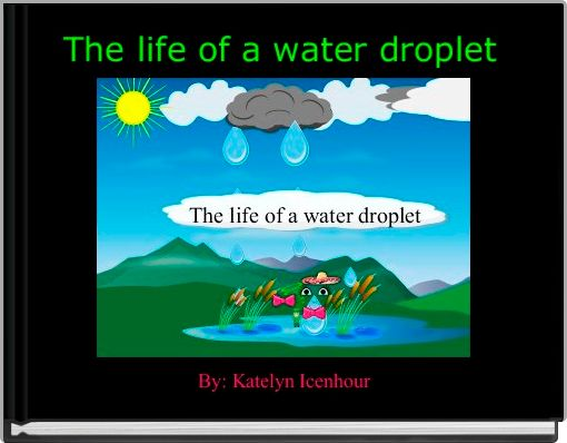 The life of a water droplet