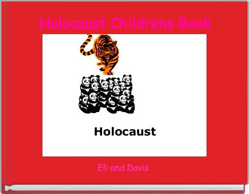 Holocaust Childrens Book