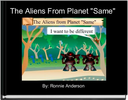 The Aliens From Planet