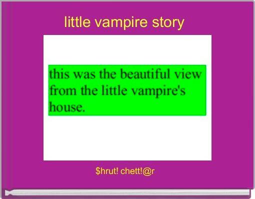 little vampire story
