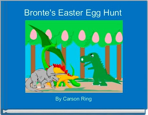 Bronte's Easter Egg Hunt