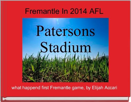 Fremantle In 2014 AFL