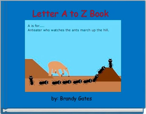 Letter A to Z Book