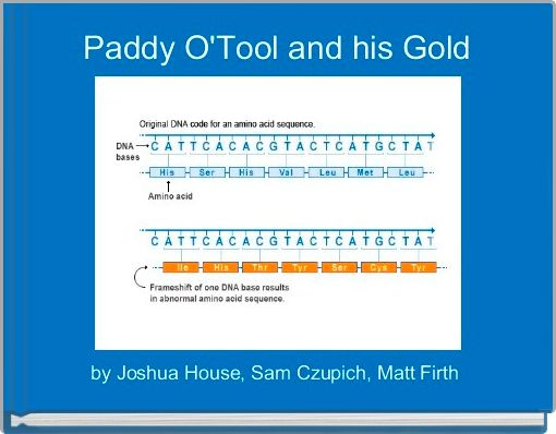 Paddy O'Tool and his Gold