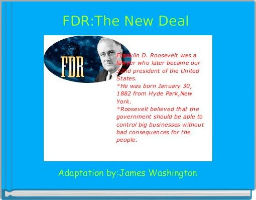 FDR:The New Deal