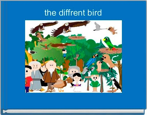 the diffrent bird