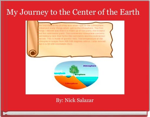 My Journey To The Center Of The Earth Free Stories Online Create Books For Kids Storyjumper