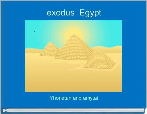 exodus  Egypt