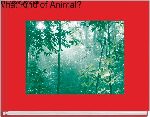What Kind of Animal?