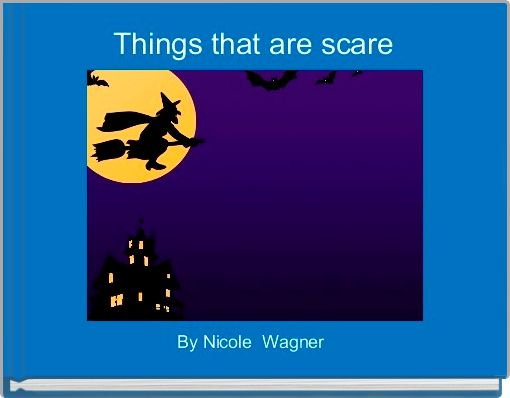 Things that are scare