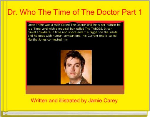 Dr. Who The Time of The Doctor Part 1