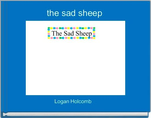 the sad sheep