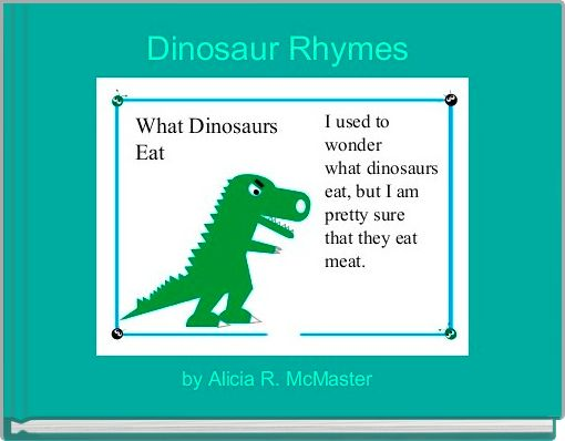 Dinosaur Rhymes