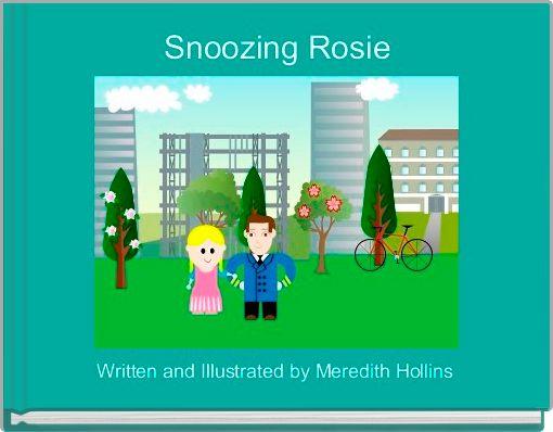 Snoozing Rosie