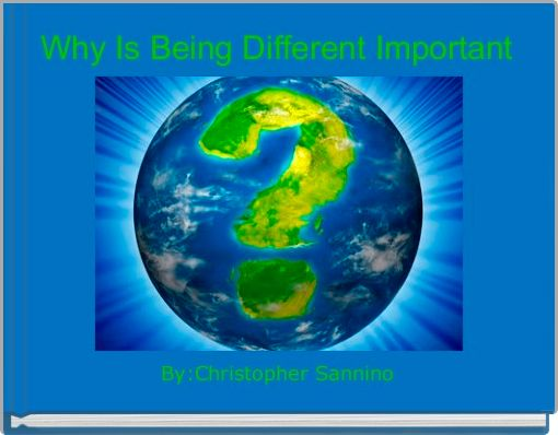 Why Is Being Different Important