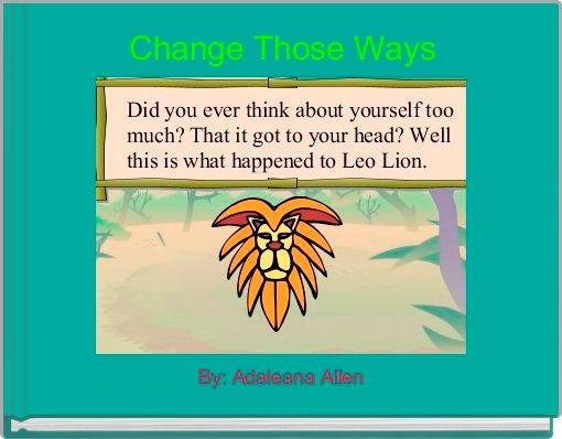 Change Those Ways