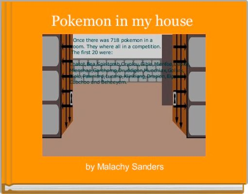 Pokemon in my house