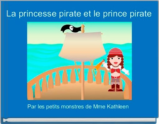 La princesse pirate et le prince pirate