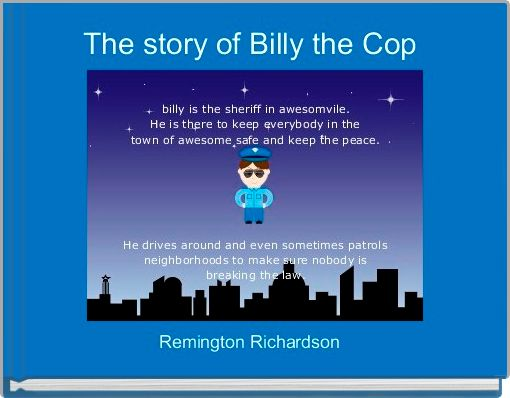 The story of Billy the Cop