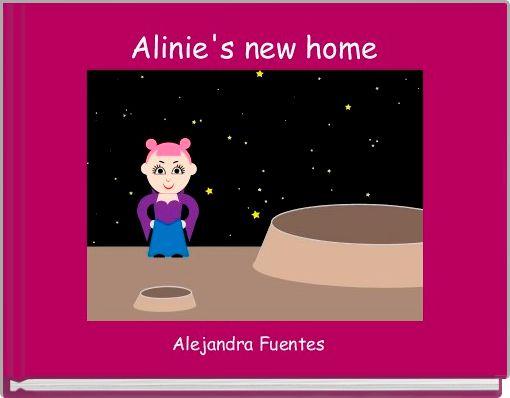 Alinie's new home