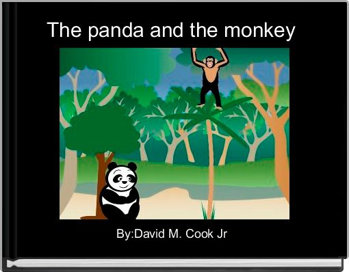 The panda and the monkey