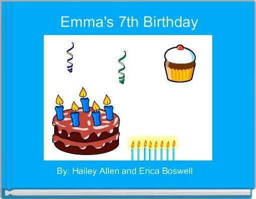 Emma's 7th Birthday