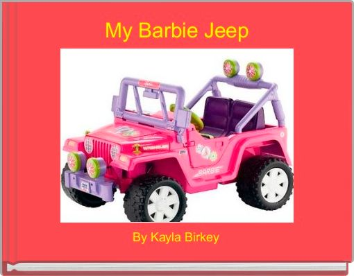 My Barbie Jeep