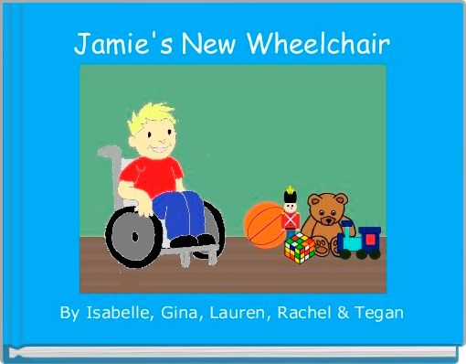 Jamie's New Wheelchair