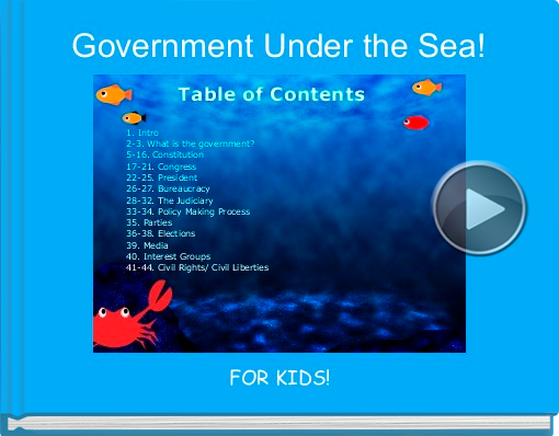 Book titled 'Government Under the Sea!'