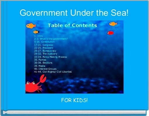 Government Under the Sea!