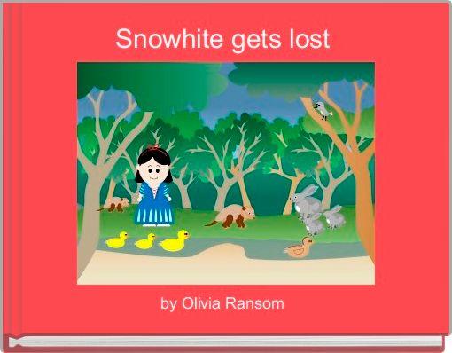 Snowhite gets lost