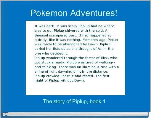 Pokemon Adventures!