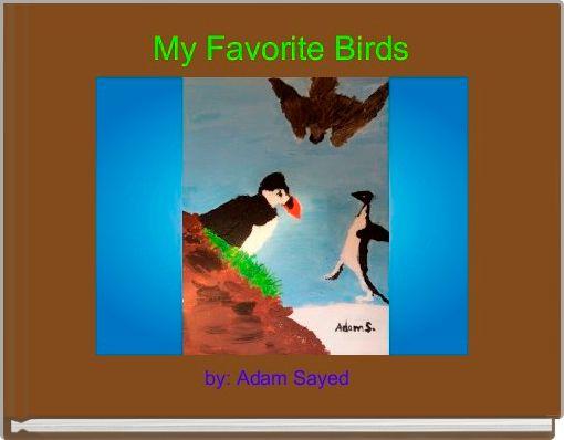 My Favorite Birds