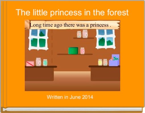 The little princess in the forest