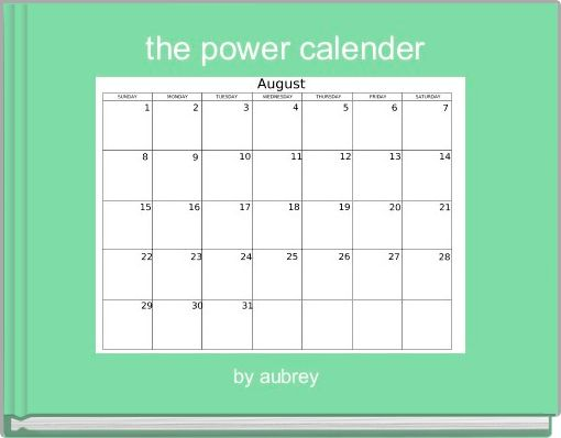 the power calender