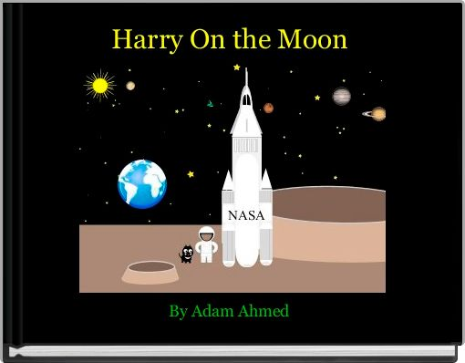 Harry On the Moon