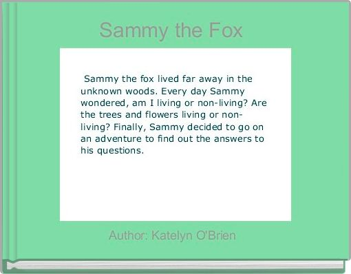 Sammy the Fox