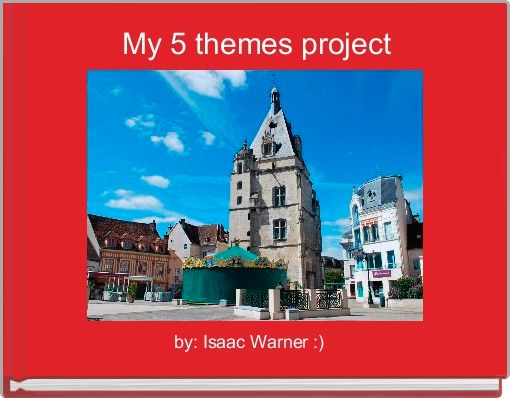 My 5 themes project