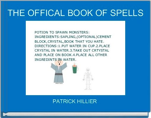 THE OFFICAL BOOK OF SPELLS