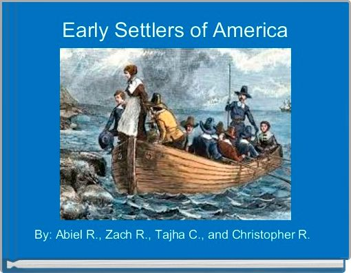 Early Settlers of America