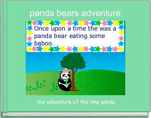 panda bears adventure