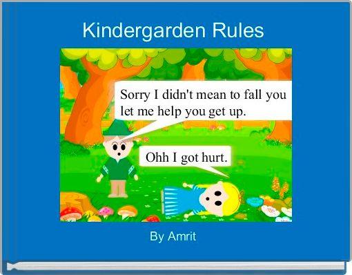 Kindergarden Rules