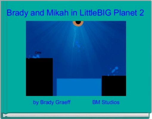 Brady and Mikah in LittleBIG Planet 2