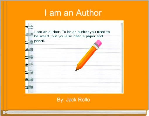 I am an Author
