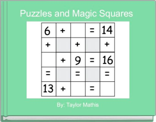 Puzzles and Magic Squares