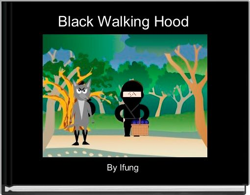 Black Walking Hood