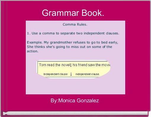 Grammar Book.