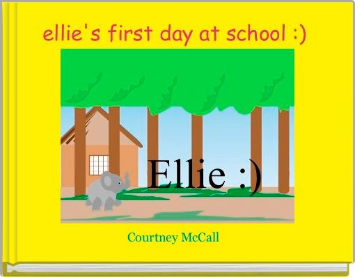ellie's first day at school :)
