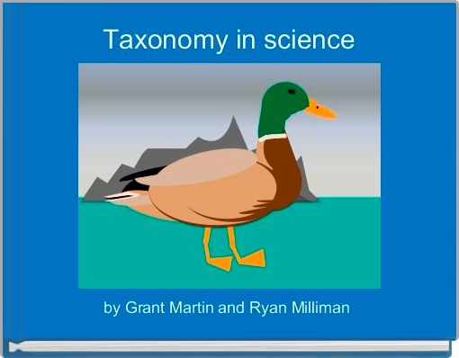 Taxonomy in science