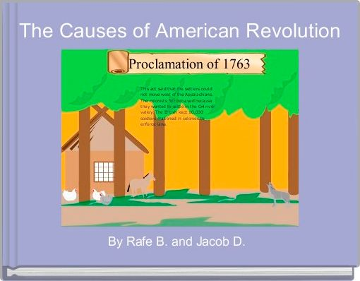 The Causes of American Revolution